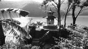 黑白尼泊尔(系列) 免版税库存图片