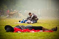 白山之战2016年 免版税库存图片