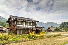白川町村庄是,日本 库存照片