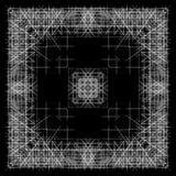 黑白抽象背景和线 免版税库存图片