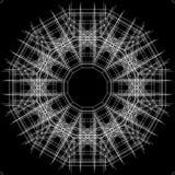 黑白抽象背景和线 免版税图库摄影