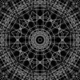 黑白抽象背景和线 图库摄影