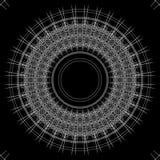 黑白抽象背景和线 库存照片