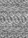 黑白抽象背景 与旋转运动的抽象样式 库存例证
