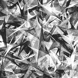 黑白抽象背景 皇族释放例证