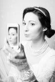 黑白摄影美丽典雅 免版税图库摄影