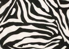 黑白斑马样式 免版税图库摄影