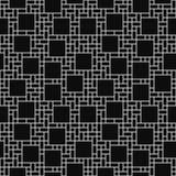 黑白方形的抽象几何设计瓦片样式关于 库存图片