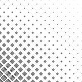 黑白方形的样式背景 免版税库存照片