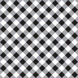 黑白无缝的样式 免版税库存图片