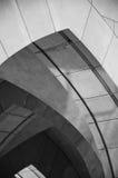 黑白曲拱 免版税库存图片