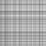 黑白条纹传染媒介格子花呢披肩 免版税库存照片