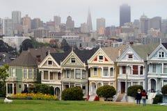 白杨广场,旧金山,加利福尼亚,美国 库存照片