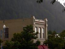 白杨木大厦有历史的科罗拉多 库存照片