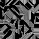 黑白样式传染媒介 免版税图库摄影