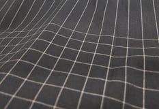 黑白格子花呢披肩织品样式背景 免版税库存照片