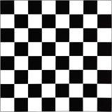 黑白棋枰 免版税库存图片