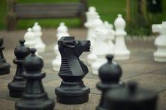 黑白棋 免版税库存照片