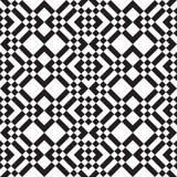 黑白正方形和条纹 免版税库存照片