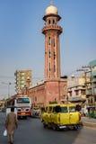 白沙瓦交通Kpk巴基斯坦 库存图片