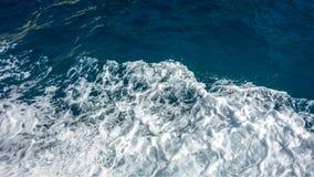 白海泡沫 免版税库存图片