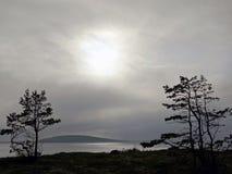 白海海岛的本质 免版税图库摄影