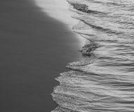 黑白海 免版税图库摄影