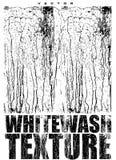 白涂料纹理传染媒介覆盖物 免版税库存照片