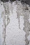 黑白照片被弄脏的墙壁纹理 免版税库存图片