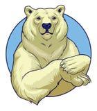 白熊 免版税库存图片