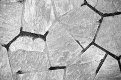 黑白特别岩石纹理背景 图库摄影