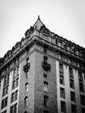 黑白的建筑学 图库摄影