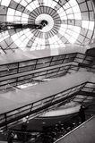 黑白的Glasdome 图库摄影