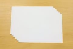白皮书 免版税库存照片