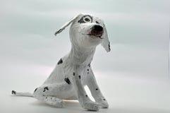 白皮书mache狗 库存图片
