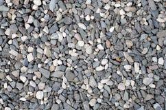 黑白石头 免版税库存图片