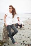 白种人夫妇 免版税图库摄影
