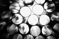 黑白秸杆 免版税图库摄影