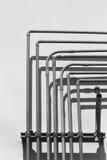 黑白空气的管道 免版税库存图片