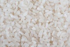 白米、自然长的米五谷背景的和纹理o 免版税库存照片