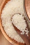 白米或被碾碎的米 库存照片
