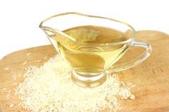 从白米的醋 库存图片