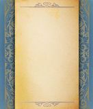 白纸模板葡萄酒 免版税图库摄影