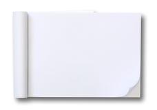 白纸片剂 免版税库存照片