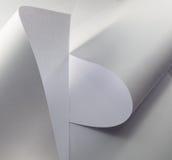 白纸 免版税库存照片