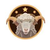 白羊星座三星 免版税图库摄影