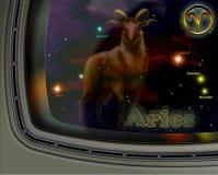 白羊星座星座 库存照片