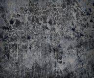 黑白老墙壁抽象的纹理  免版税库存照片