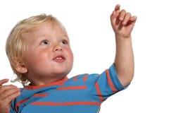 白肤金发的两岁的男孩 库存图片