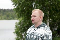 白肤金发的人 免版税库存照片